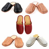 100% Genuine Leather Suede Slippers for Mens Top Quality 6, 7, 8, 9, 10, 11, 12