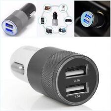 Mini Dual USB Twin 2 Port 12v Universal in Car Lighter Socket Charger Adapter UK