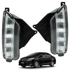 Daytime Running Light Lamp DRL Kit Set Toyota Yaris Vios Sedan 2017 on