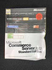 MICROSOFT COMMERCE SERVER 2000 STANDARD EDITION SOFTWARE 532-00914 NEW SEALED