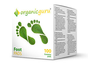 Organicguru® DETOX FOOT PADS Herbal Patches Feet Patches Remove Body Toxins
