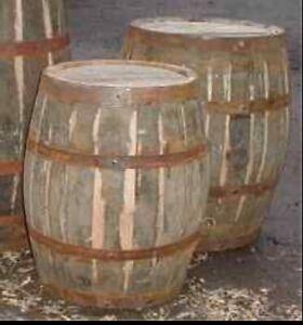 40 Year Whiskey 1 Kilo Seasoned Solid Oak Barrel  bbq Wood Chunk Smoker Pizza