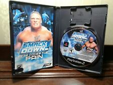 WWE SmackDown Here Comes the Pain PS2 NM CIB COMPLETE (Sony PlayStation 2, 2003)