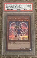 Psa 9 Mint Dark Magician Girl JPC55 20th Annivesery Legendary Collection Yugioh