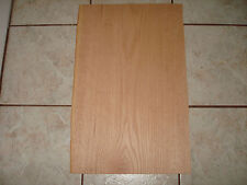 ONE VINTAGE RED OAK VENEER 12'' X 24'' X 1/20'' THICK OVER 40 YEARS OLD NOS