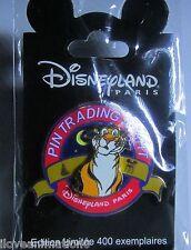 Disney Dlp Pin Trading Paris Night Rajah Le 400 Pin