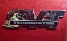 "SVT Logo Plate ""TERMINATOR"" - 2003/2004 Cobra Mustang"