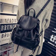 Fashion Women Girl Leather Backpack Travel School Shoulder Bag Satchel Sac à dos