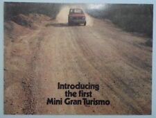 MINI 1275 GT orig 1969 1970 UK Mkt Sales Brochure - 2686