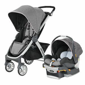 Chicco Bravo Trio 3-in-1 Travel System Stroller w/ KeyFit 30 Lilla New, Open Box