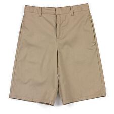 French Toast Boys Shorts Size 10 Khaki Adjustable Waist Twill Flat Front Uniform