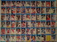 1989-90 OPC '89 O-Pee-Chee Partial UNCUT Sheet Panel 66 Cards P Roy W Gretzky NM