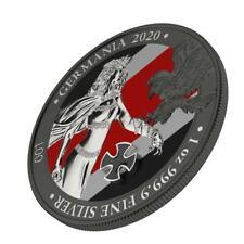 Germania 2020 5 Mark - Germania - Iron Cross - 1 Oz Silver Coin