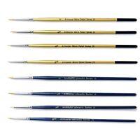 The Art Shop Skipton Fine Detail Paint Brush Set - Pack of 8