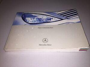 CLASSE A Uso E Manutenzione Istruzioni D' Uso Manuale Istruzioni Mercedes 2003