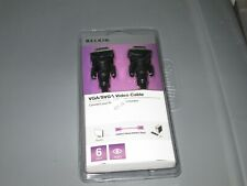 Belkin NEW  VGA/SVGA Video Cable; Model F3H982-06-OM NEW