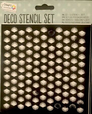 Card Making /& Crafting 5 Stencils Music Four Leaf Decorative Stencil Set
