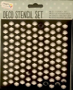 Decorative Stencil Set Card Making And Crafting - 5 Stencils Dolphins Seahorses