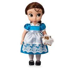 Disney Animator's Collection - Belle Puppe mit Minischaf-Kuscheltier NEU