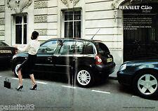 PUBLICITE ADVERTISING 096  2003  La Renault Clio  (2p)  Initiale