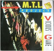 M.T.L. Project, Vicious Game, G/VG, Maxi Single  EP (6528)