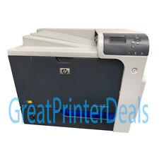 HP Color LaserJet CP4025DN Printer Nice Off Lease Unit w / toner too! CC490A