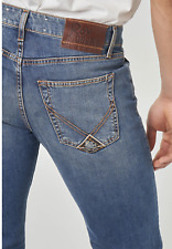 Jeans ROY ROGERS Uomo , Mod. 529 WEARED 10 , Nuovo e Originale, SALDI