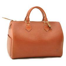 LOUIS VUITTON Epi Speedy 30 Hand Bag Kenia Brown M43003 LV Auth sa2260