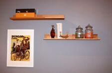 Massivholz Wandregal 60cm Kernbuche geölt Wandboard küchen Hänge regal board