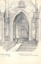 R238544 Sheffield Cathedral. The Chanel and High Altar. J. W. Northend. 49 West