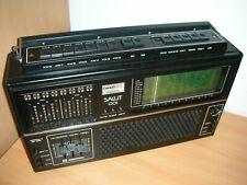 Salut 001 Weltempfänger Transistorradio Kofferradio UDSSR
