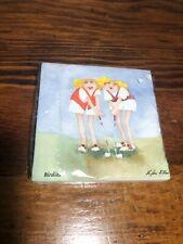 Vtg Golf Gag Napkins NOS Party Supplies Retro Napkin Sealed Erica Oiler Design