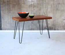 60er TEAK BEISTELLTISCH COUCHTISCH 60s SIDE TABLE COFFEE TABLE MID-CENTURY