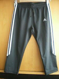 Adidas   Climalite    Sporthose    Damen    schwarz     Größe 42    wie neu!