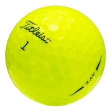 12 Titleist AVX Yellow Near Mint Used Golf Balls AAAA