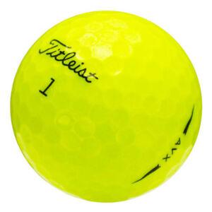 12 Titleist AVX Yellow Good Quality Used Golf Balls AAA