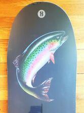 Burton Jeff Brushie Trout Reissue Snowboard 157 New