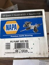 1 REMAN NAPA 38-5656 / 990-0442 POWER STEERING PUMP W/O RESERVOIR **MAKE OFFER**