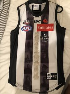 Collingwood Anzac Player Issue