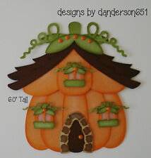PuMpKiN ThAnKsGiViNg PreMade Paper Piecing Die Cut Scrapbook Border danderson651