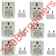 6-PK 100 W Watt To and From 110 220 Volt Travel Voltage Converter 110V 220V 100w