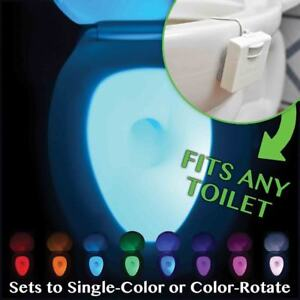 Fits any toilet Motion-Activated Toilet Night Light -3 x AAA battery