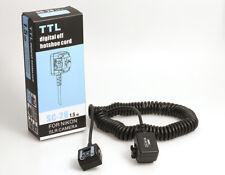 TTL SC-28 digital off hotshoe cord 1,5m für Nikon TTL digital