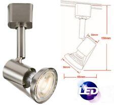 LED GU10 Track Cool White Zinc Alloy Single Lamp Circuit Mains Spot Lighting