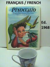 Superbe Livre Vintage en Français Pinocchio Casterman Tournai 1954 (éd. 1968)