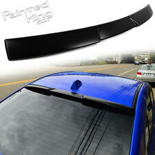 Painted For Subaru WRX STI 4th V Look Rear Window Roof Spoiler 15-17