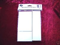 GIFT BOXES White Embossed 3 Pack 3 Different Sizes