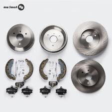 Smart 452 Brake Discs Brake + Brake Drum Set + Accessories Front Rear