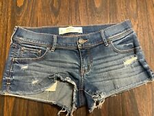 Gilly Hicks jeans shorts- size 4 waist 27- very gently used