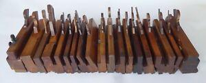 Selection( 17) Moulding Planes & 2 Fillister inc. Green, Ames, Moseley, Turner